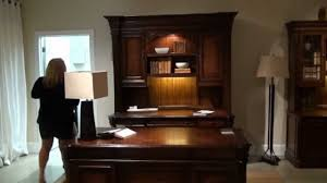 home office set. European Rennaissance Executive Home Office Desk Set By Hooker Furniture | Gallery Stores - YouTube