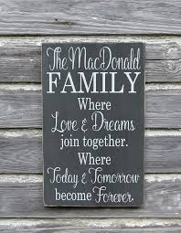 Quote Plaques Awesome Custom Wood Sign Personalized Family Name Signs Inspirational Love