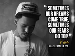 40 Inspirational J Cole Quotes Lyrics Wealthy Gorilla Gorgeous J Cole Song Quotes