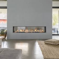 sixty0 see thru built in fireplace