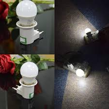 Night Light Socket Base Us 5 08 38 Off E27 Night Lamp Eu Plug Light 220v 5w Led Night Lights With Switch Socket E27 Holder Base Night Light In Night Lights From Lights