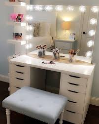 perfect make up vanity lights best ideas about makeup vanity white makeup vanity with lights