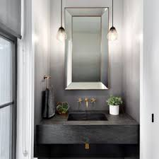 Small powder room design Finishing Powder Room Small Transitional Brown Floor And Dark Wood Floor Powder Room Idea In Vancouver Houzz 75 Most Popular Small Powder Room Design Ideas For 2019 Stylish