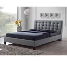 images of modern bedroom furniture. zeller grey modern bed with upholstered headboardfullqueen size images of bedroom furniture n