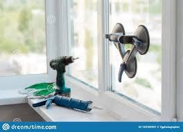 Window Installer Tools Stock Image Image Of Frame Handyman