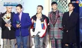 Winners Of 5th Gaon Chart K Pop Awards Kpopmap