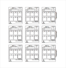 10 Line Sheet Templates Free Sample Example Format Download
