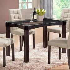 dining tables counter height dining set round glass dining room sets counter height dining table black