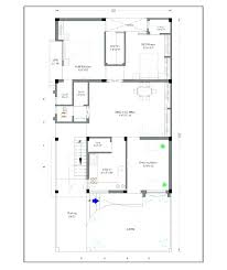 fresh house plan in 20 60 plot and ft wide house plans x house plans square