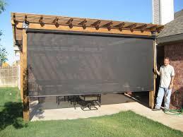 patio shade screen. Privacy Screen Patio   OUTDOOR SPACES \u2013 Beat The Heat\u0027s Shades, Enclosures . Shade \