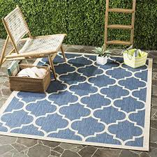 artistic 9x12 outdoor rug in blue com