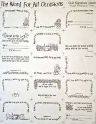 a great collection of free quilt label templates quilt label Fuse Box Label Template words for all occasions 15 quilt labels white this 18\