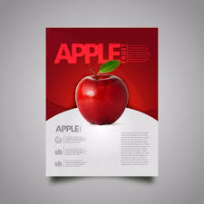 Apple Flyer Templates Apple Fruit Report Infos Template For Free Download On Pngtree