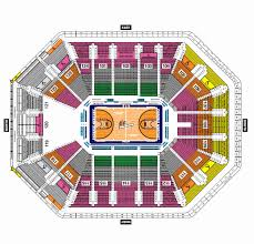 Wintrust Arena Seating Chart With Rows 70 Awesome Pics Of Blue Cross Arena Seating Chart