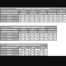 Eileen Fisher Size Chart Eileen Fisher Size Chart Buurtsite Net