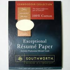 Southworth Resume Paper Details About Southworth R141cf Exceptional Resume Paper Ivory 24 Lb 8 1 2 X 11 100 Sheets