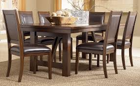 Wood Dining Table Set Amazing Decoration Ashley Furniture Dining Table And Chairs