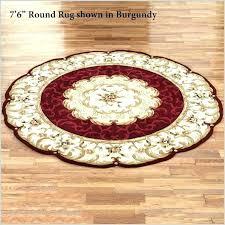 5 foot round rugs tutele