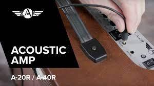 ZAR Amplifier A-20R / A-40R - YouTube