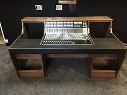 custom recording studio furniture for the api 1604 mixing desk