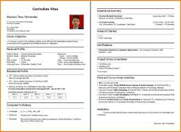 How To Make Cv For Freshers Perfect Resume Format