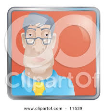 boring people clipart. people internet messenger avatar of a bored businessman wearing glasses by atstockillustration · psychiatrist clipart humor boring o