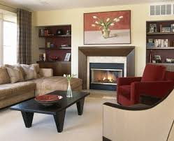 interior: Cozy Living Room With Cream Accents Wall Colors Plus Mixed With  Beautiful Wall Flower