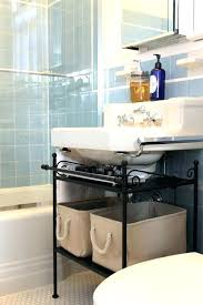 under sink pedestal storage bathroom vanities with size of bathroom storage under pedestal sink storage cabinet