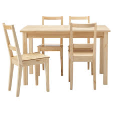 White Wood Kitchen Table Sets Dining Room Furniture Appealing Ikea Dining Sets With Dining