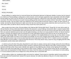 racial profiling essays criminal justice laws racial profiling essay conclusion custom writing service