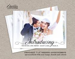 Wedding Announcement Photo Cards Wedding Announcement Photo Cards Barca Fontanacountryinn Com