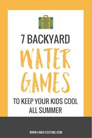 25+ unique Backyard water games ideas on Pinterest | Hot summer ...