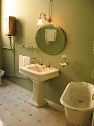 Avocado Bathroom Suite Green Bathrooms Green Deco Bathroom With An Old Original Sink 17