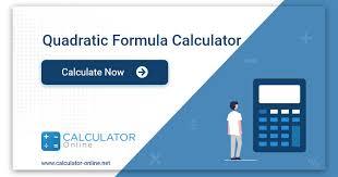 quadratic formula calculator solve