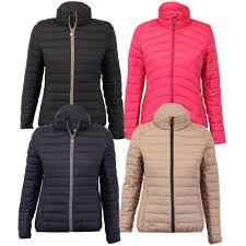 Quilted Womens Jackets | Jackets Review & Ladies Padded Jacket Womens Coat Quilted Down Hooded Funnel Neck . Adamdwight.com