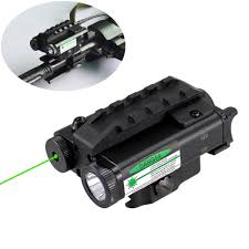 Compact Laser Light Combo Military Style Compact Green Laser Sight 500 Lumen Led Light Combo With Pressure Cord Switch And Quick Release Mount