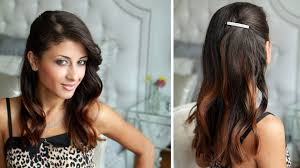 You Tube Hair Style celebrity side pinned hairstyle youtube 8986 by wearticles.com