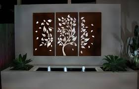 pieces laser cut metal wall art garden simple wooden themes multi panel combination plant grasses 634x406 on laser cut wall art metal with the beauty of laser cut wall decor will hypnotize you
