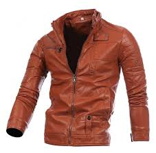 men s clothing haodasi fashion mens leisure pu leather coat motorcycle racer jacket outwear slim warm dark