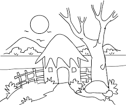 Small Picture Unique Scenery Coloring Pages 68 On Coloring For Kids With Scenery