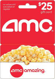 You can use it in person at the theater or on the theater's website. Amc Theatres 25 Gift Card Amc Gift Card 25 Best Buy