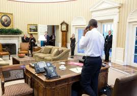 where is the oval office. President Barack Obama Talks On The Phone In Oval Office With Secretary Of State John Where Is