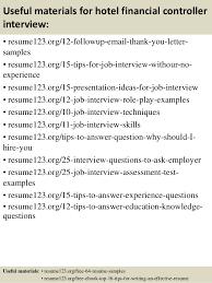 top  hotel financial controller resume samples       useful materials for hotel financial controller