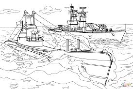 Coloriage Navire De Guerre Coloriages Imprimer Gratuits
