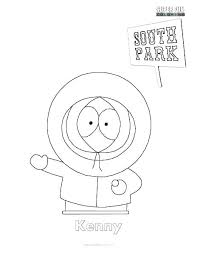Free Printable South Park Coloring Pages S Online To Print