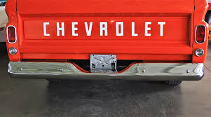 1965 Chevy - Chevrolet Pickup Truck Tailgate Photograph by ...