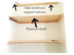 plans for floating shelves a simple diy floating shelves for your home 30