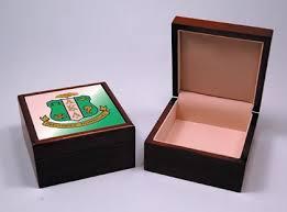 alpha kappa alpha keepsake jewelry box