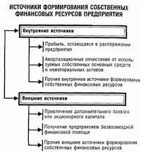 диплом Управление собственным капиталом на примере ЗАО ЭкоАрктика  Источники формирования собственного капитала предприятия дипломная работа