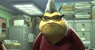 Image result for roz monsters inc gif